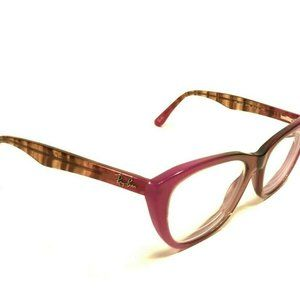 Ray Ban Pink Purple Brown Cats Eye Full Glasses